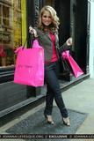 JoJo - Joanna Levesque :: Shopping at Betsey Johnson in New York City :: 15 Feb 2008