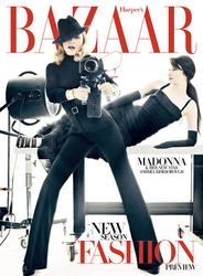 Madonna in Harper's Bazaar (December 2011)