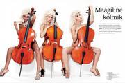 Виолина, фото 10. Violina Daana Ots, Johanna-Marie Ainomae & Kall Haarde - Playboy Estonia - March 2010 (x10), photo 10