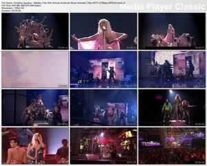 Christina Aguilera - Medley (The 40th Annual American Music Awards) - HD 720p 27Mbps