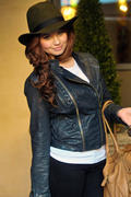 Debby Ryan- Hotel Check Out in London 01/15/12- 4 HQ